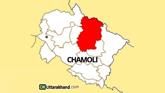map of chamoli