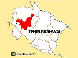 tehri garhwal map
