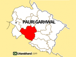 pauri garhwal map