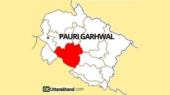 pauri garhwal map